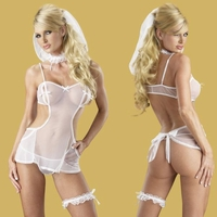 Plus Size Sexy Bride Costume 21649X