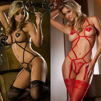 X903 Rated X 3pc Lustful Criss-Cross Teddy W/ Pasties