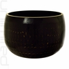 "10"" Black Ching Bowl (Temple Bowl Gong)"