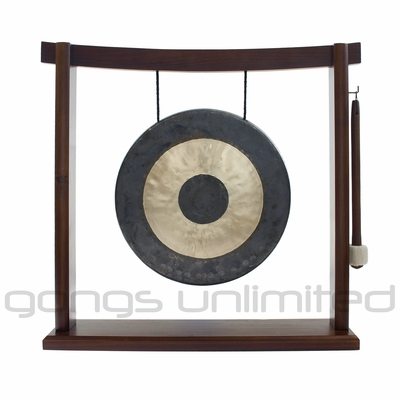"10"" Chau Gong on the Woodsonic Gong Stand - FREE SHIPPING"