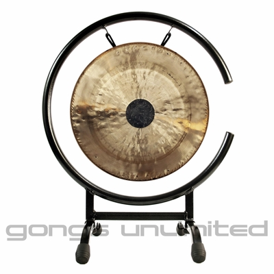 "10"" Chocolate Drop Gong on High C Gong Stand - FREE SHIPPING"