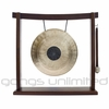"10"" Chocolate Drop Gong on the Woodsonic Gong Stand - FREE SHIPPING"