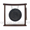 "10"" Mother Tesla Gong on the Woodsonic Gong Stand - FREE SHIPPING"