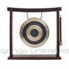 "10"" Subatomic Chau Gong on the Woodsonic Gong Stand - FREE SHIPPING"