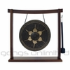 """10"""" Thai Gong on the Woodsonic Gong Stand - FREE SHIPPING"""
