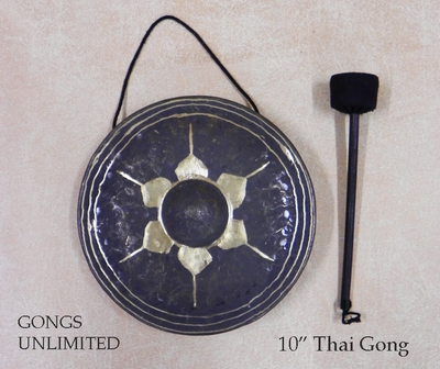 "10"" Thai Gong with Mallet"