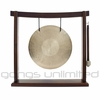 "10"" Wind Gong on the Woodsonic Gong Stand - FREE SHIPPING"