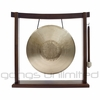 "SOLD OUT 11"" Tiger Gong (Opera Style - Pitch Bend Gong) on the Woodsonic Gong Stand - FREE SHIPPING"