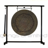 "12"" Atlantis Gong on the Zildjian Table-Top Gong Stand (P0561) - FREE SHIPPING"