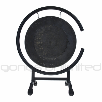 """12"""" Mother Tesla Gong on High C Gong Stand - FREE SHIPPING"""