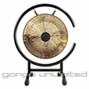 "12"" Chocolate Drop Gong on High C Gong Stand"