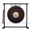 "12"" Dark Star Gong on the Zildjian Table-Top Gong Stand (P0561) - FREE SHIPPING"
