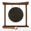 "12"" Mother Tesla Gong on The Small Eternal Present Gong Stand"
