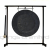 "12"" Mother Tesla Gong on the Zildjian Table-Top Gong Stand (P0561) - FREE SHIPPING"