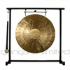 "12"" Pasi Gong on the Zildjian Table-Top Gong Stand (P0561) - FREE SHIPPING"