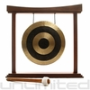 "12"" Subatomic Chau Gong on The Small Eternal Present Gong Stand"
