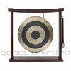 "SOLD OUT 12"" Subatomic Gong on Woodsonic Gong Stand - FREE SHIPPING"