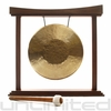 "12"" Tiger Gong on The Small Eternal Present Gong Stand"