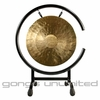 "12"" White Gong on High C Gong Stand - FREE SHIPPING"