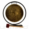 "SOLD OUT 14"" Engraved Nepalese Gong on Au Courant Stand"
