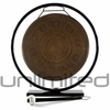 "13"" Engraved Nepalese Gong on Au Courant Stand"