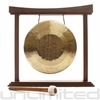 "13"" Tiger Gong on The Small Eternal Present Gong Stand"
