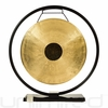 "14"" Chocolate Drop Gong on Au Courant Gong Stand - FREE SHIPPING"