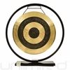 "14"" Subatomic Gong on Au Courant Gong Stand - FREE SHIPPING"