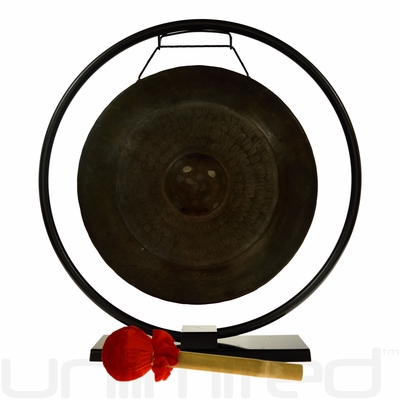 "14"" Pham Tuan Vietnamese Gong on Au Courant Gong Stand - FREE SHIPPING"