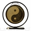 "14"" Yin Yang Gong on Au Courant Stand - FREE SHIPPING"