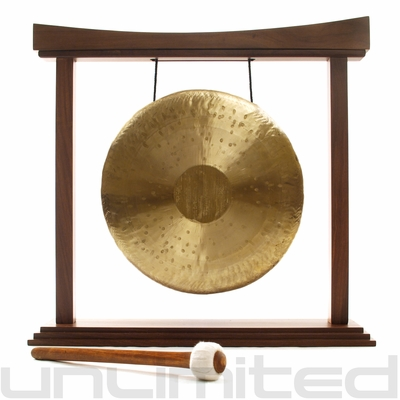 "16"" Heng Gong on The Eternal Present Gong Stand - FREE SHIPPING - SOLD OUT"