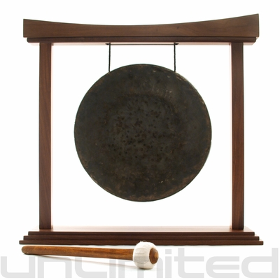 "16"" Mother Tesla Gong on The Eternal Present Gong Stand - FREE SHIPPING"