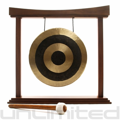 """16"""" Subatomic Gong on The Eternal Present Gong Stand - FREE SHIPPING"""