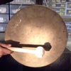 "18"" Imperfect Atlantis Gong (#2)  - FREE SHIPPING"