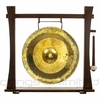 """20"""" Thai Golden Nipple Gong on Spirit Guide Gong Stand - FREE SHIPPING"""