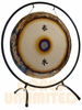"""22"""" Steel Tai Loi Gong on The Circle Gong Stand - Made in America - SOLD OUT"""