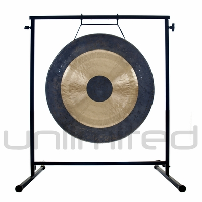 "22"" Bright Chau Gong on the Fruity Buddha Gong Stand - FREE SHIPPING"