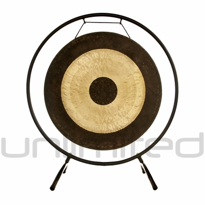 """22"""" Chau Gong on the Holding Space Gong Stand - FREE SHIPPING"""