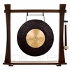"22"" Dark Star Gong on Spirit Guide Gong Stand - FREE SHIPPING"