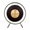 "22"" Dark Star Gong on the Holding Space Gong Stand - FREE SHIPPING"