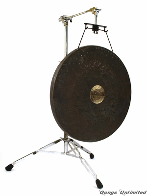 "22"" Dark Star Gong on The Satellite Of Love Stand"