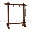 """22"""" Gongs on the Modern Antique Gong Stand - FREE SHIPPING"""