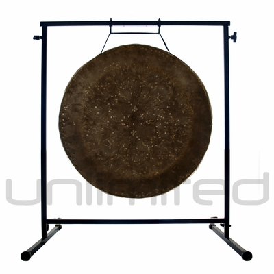 "22"" Mother Tesla Gong on the Fruity Buddha Gong Stand - FREE SHIPPING"
