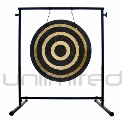 "22"" Solar Flare Gong on the Fruity Buddha Gong Stand - FREE SHIPPING"