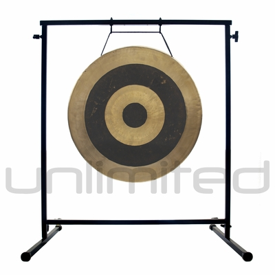 "22"" Subatomic Gong on the Fruity Buddha Gong Stand - FREE SHIPPING"