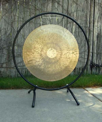 "22"" Wind Gong on the Circle Gong Stand"