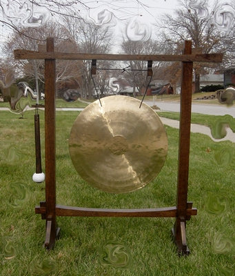"22"" Wind Gong on Pat Chang Gong Stand"