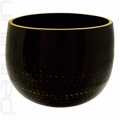 "24"" Black Ching Bowl (Temple Bowl Gong) - FREE SHIPPING"