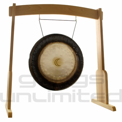 "24"" Meinl Sidereal Moon Planetary Tuned Gong on the Meinl Wood Stand (G24-M-SI/TMWGS-M) - SOLD OUT"