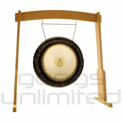 "24"" Meinl Uranus Planetary Tuned Gong on the Meinl Wood Stand (G24-U/TMWGS-M) - SOLD OUT"